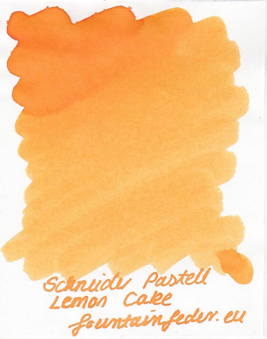 Schneider Pastell Lemon Cake Ink Sample 2ml