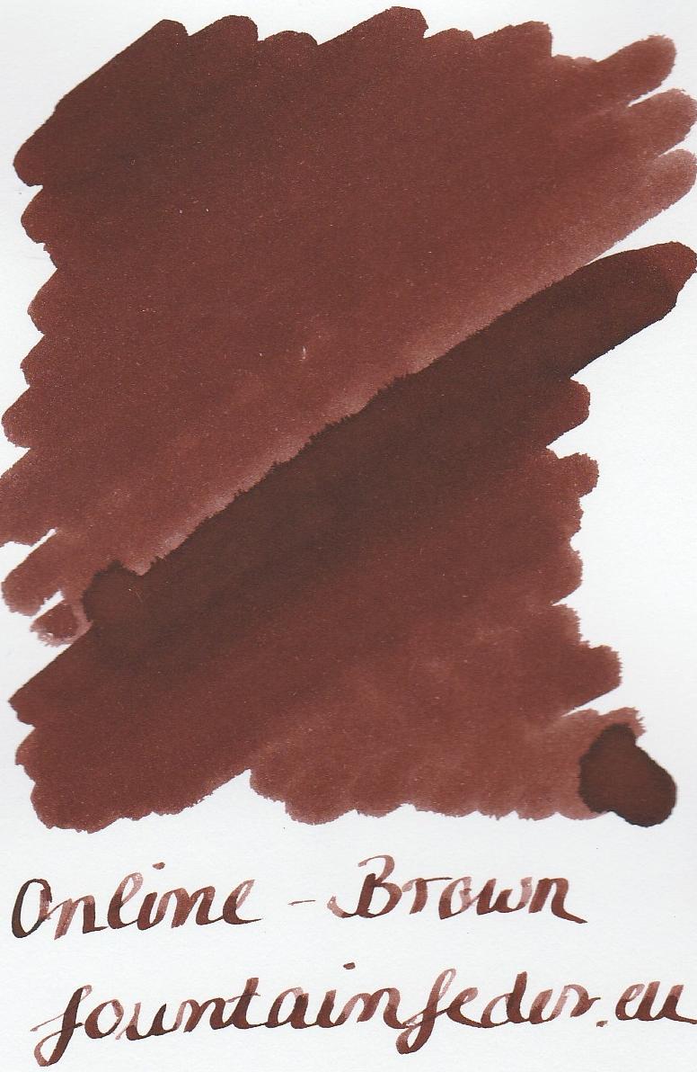 Online Brown Ink Sample 2ml