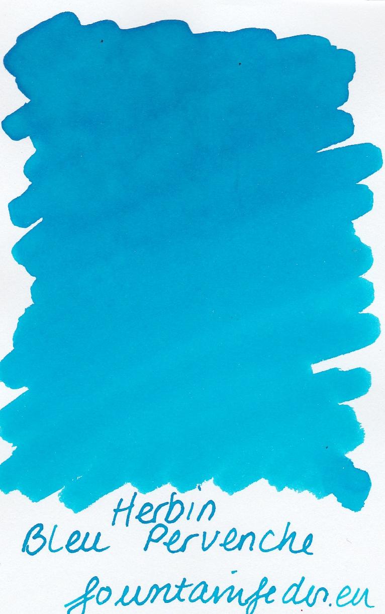 Herbin Bleu Pervenche Ink Sample 2ml
