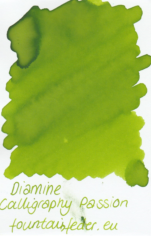 Diamine Calligraphy Passion Ink Sample 2ml