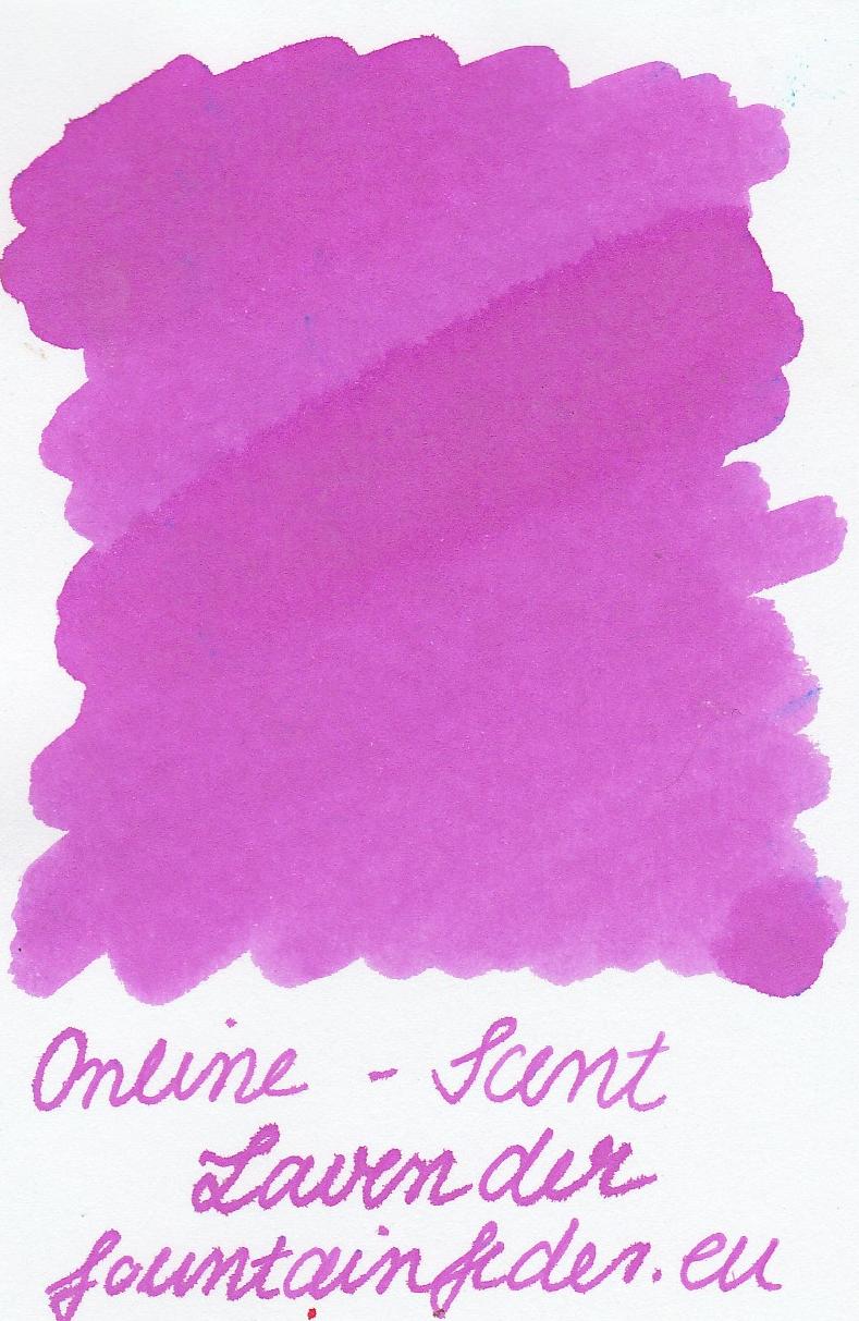 Online Scented Lavender Ink Sample 2ml