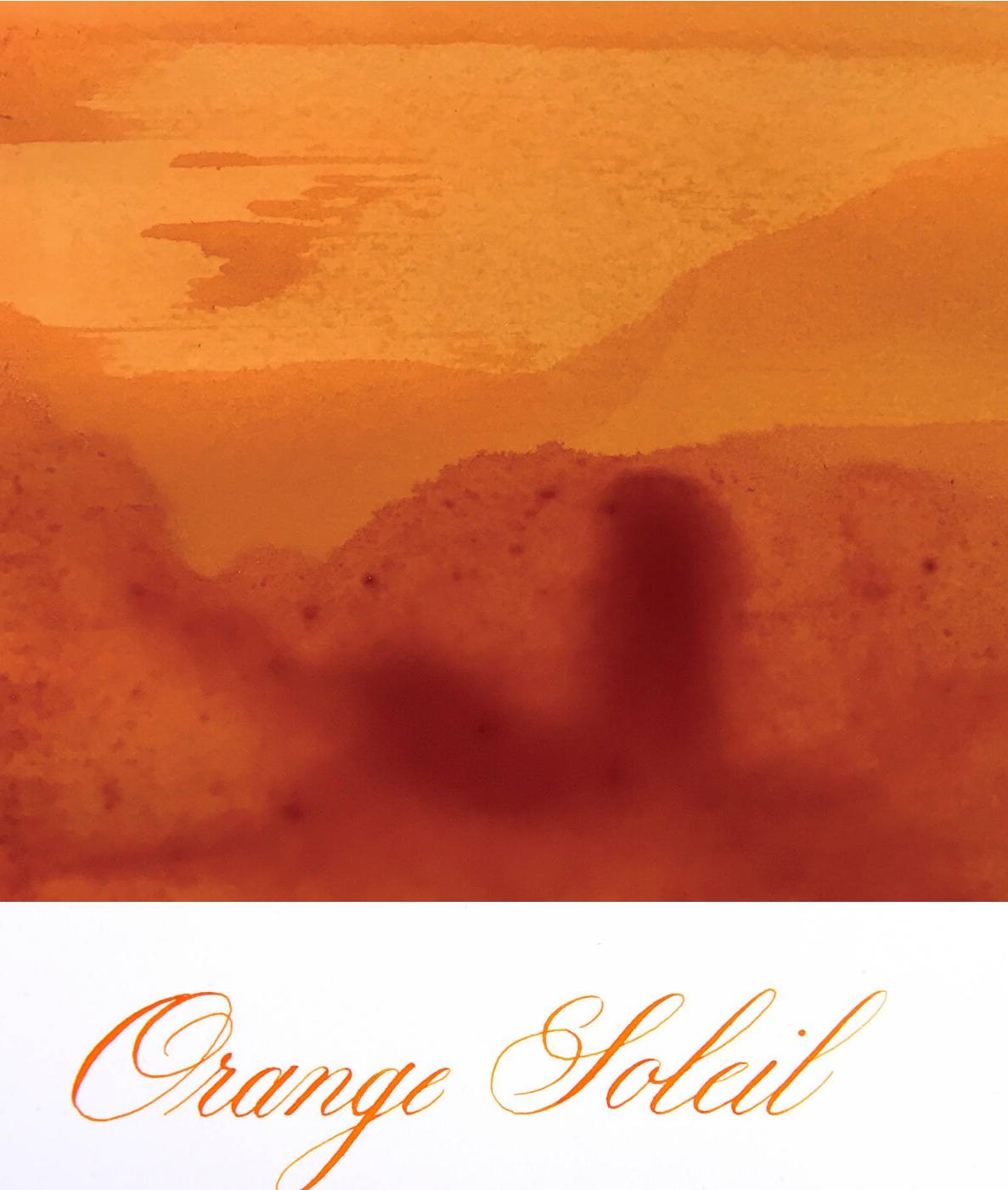 Jacques Herbin  - Orange Soleil Ink Sample 2ml