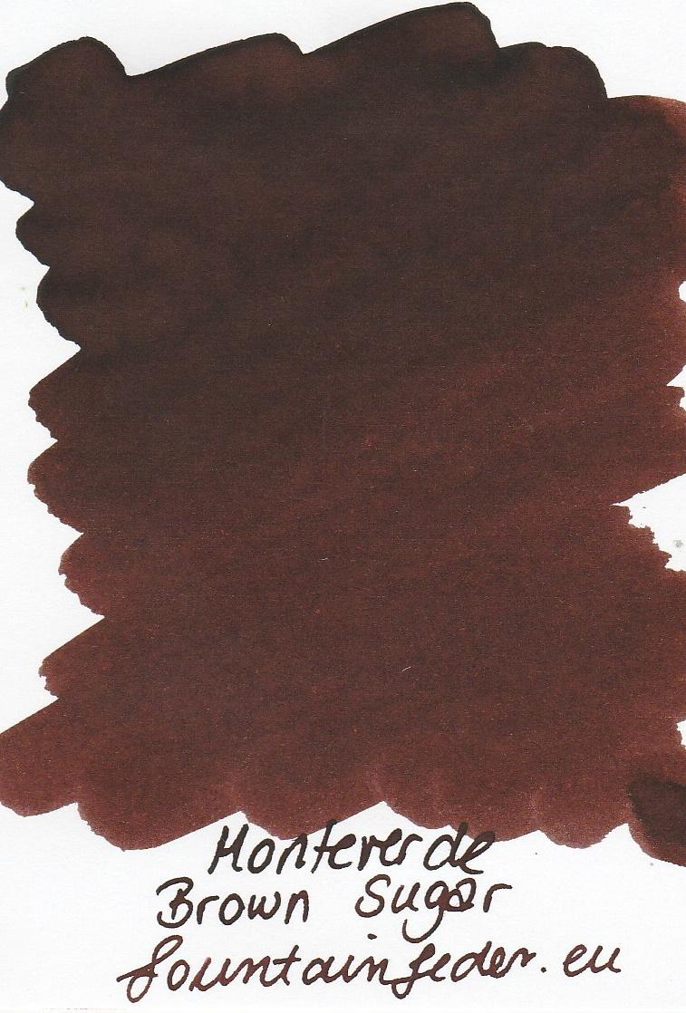 Monteverde  Brown Sugar Ink Sample 2ml