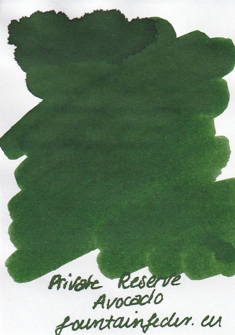 Private Reserve - Avocado Ink Sample 2ml
