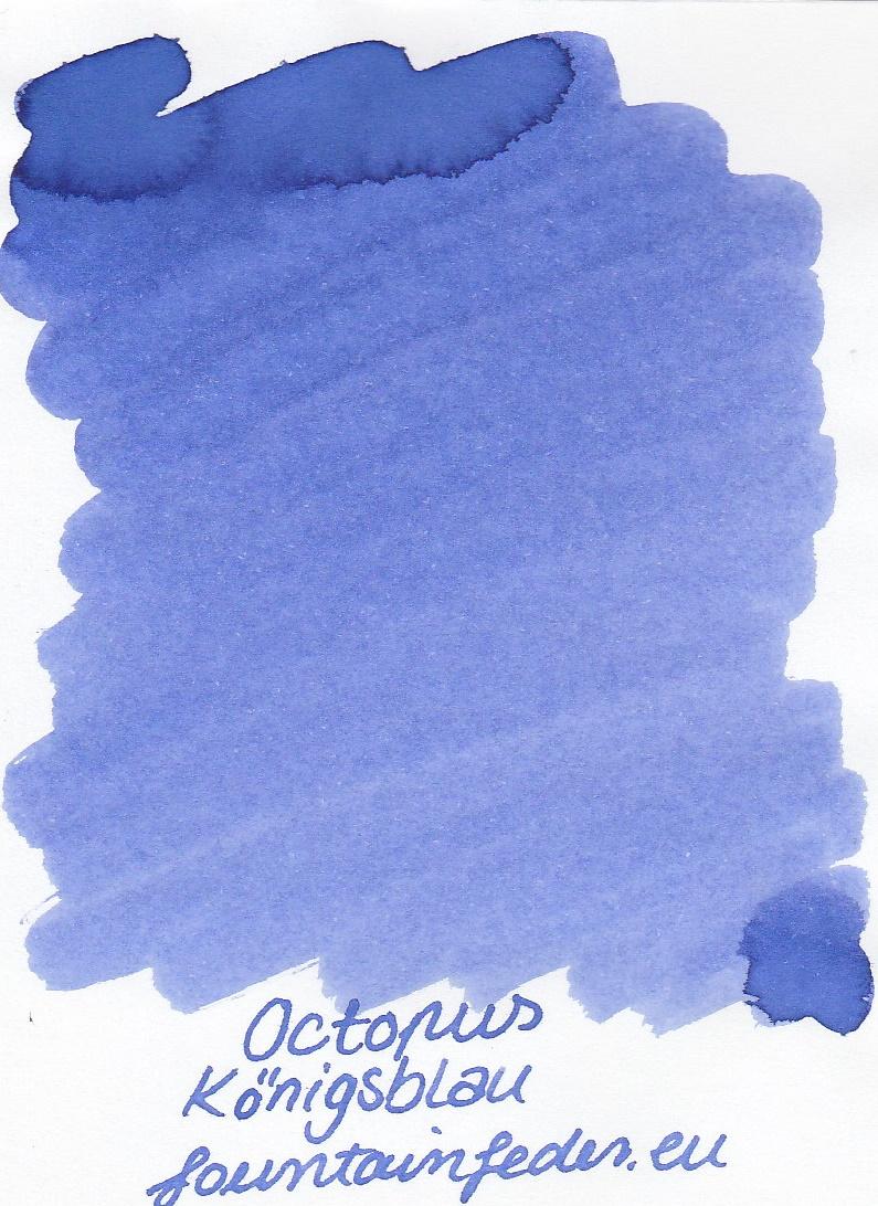 Octopus Fluids Königsblau Ink Sample 2ml