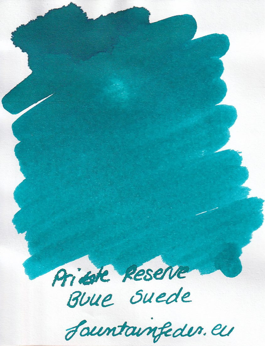 Private Reserve - Blue Suede Ink Sample 2ml