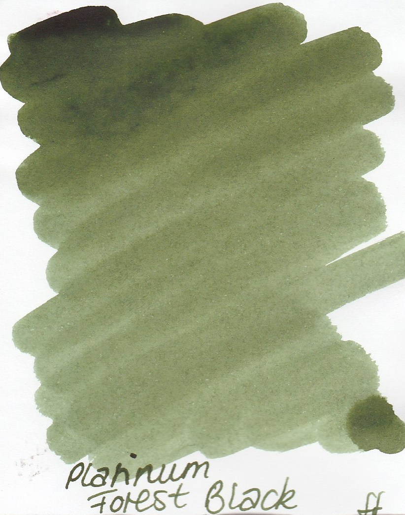 Platinum Forest Black Ink Sample 2ml