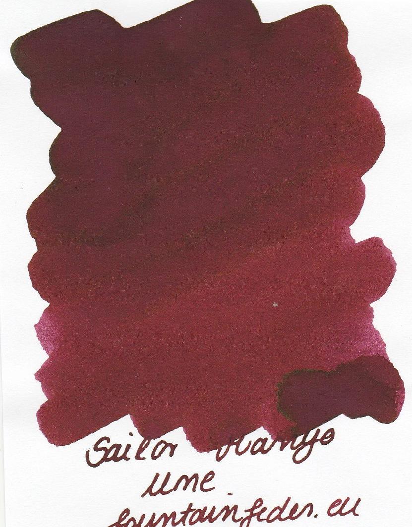 Sailor Manyo Ume Ink Sample 2ml