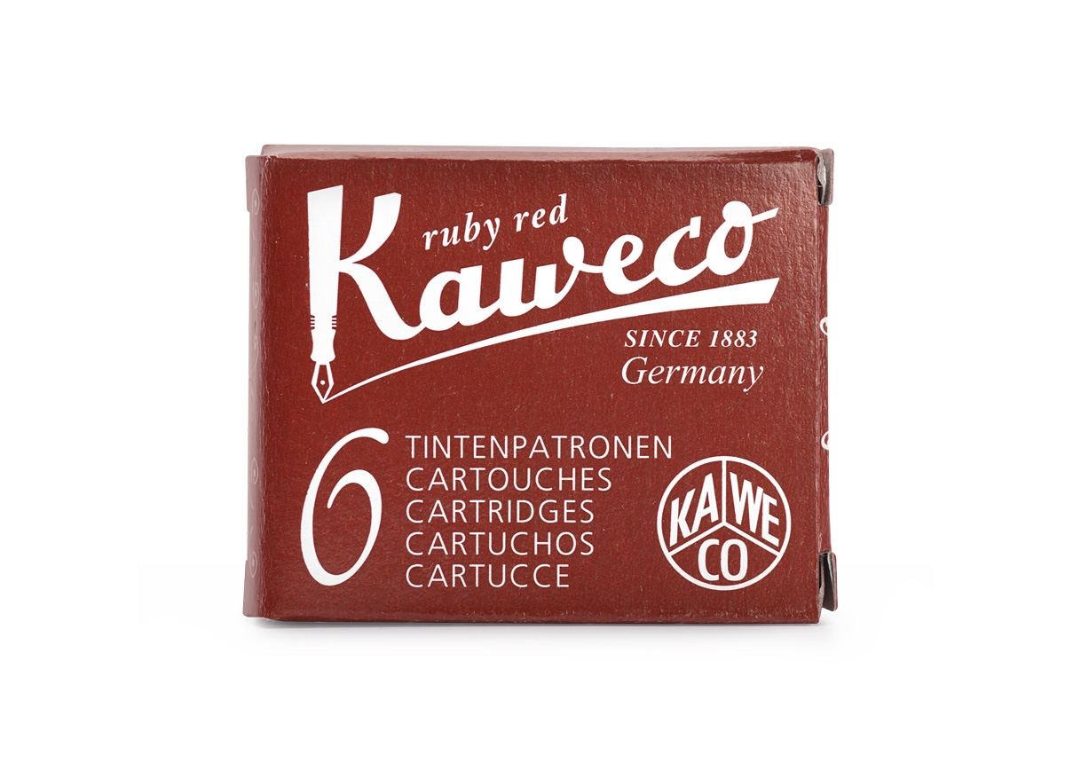 Kaweco Ruby Red Cartridges