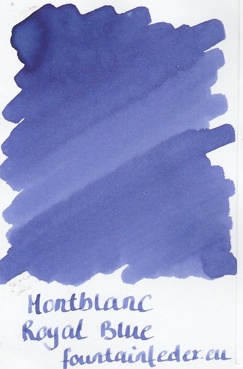 Montblanc Royal Blue Ink Sample 2ml