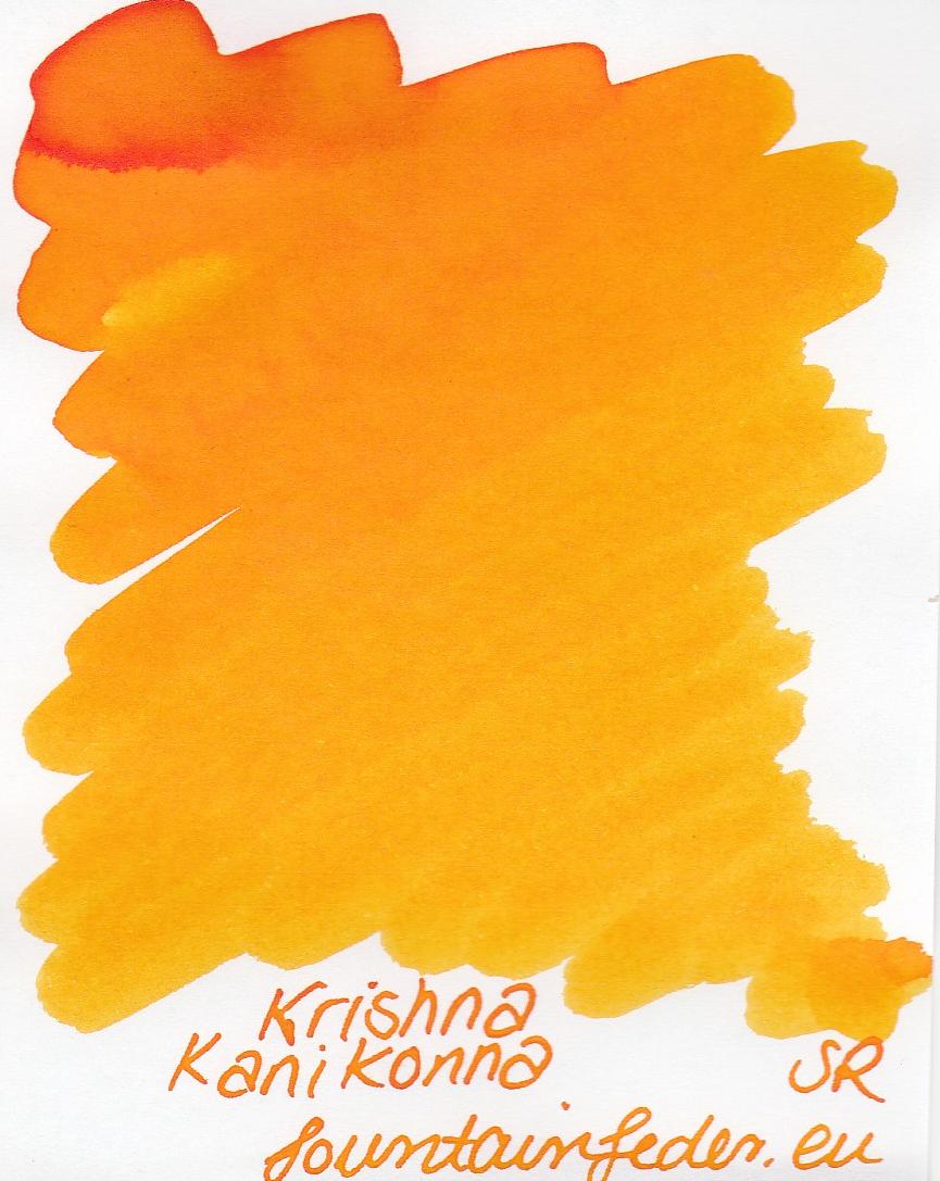 Krishna SR Kanikonna Ink Sample 2ml