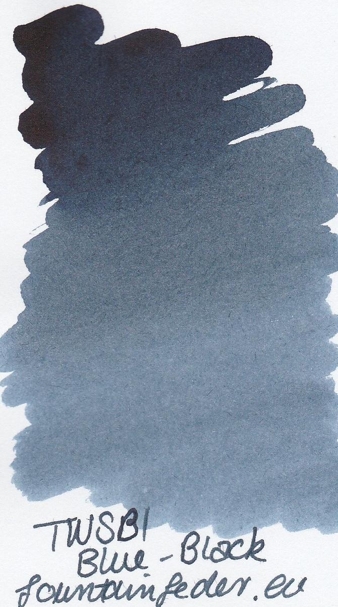 TWSBI Blue Black Ink Sample 2ml