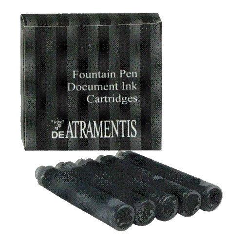 DeAtramentis Document Black Cartridges